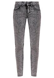 Vila Vicommit Slim Fit Jeans Grey Grey Denim