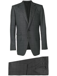 Tom Ford Too Piece Formal Suit Grey