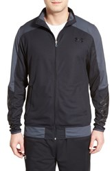 Men's Under Armour 'Select' Moisture Wicking Warm Up Jacket Black