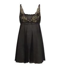 Hanky Panky Rose D'or Chemise Female Black