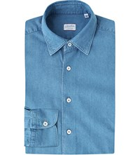 Slowear Kurt Regular Fit Denim Shirt Blue