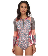 Maaji Bittercress Surfer One Piece Without Soft Cups And Cheeky Cut Multi Women's Swimsuits One Piece
