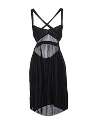 0051 Insight Dresses Short Dresses Women Black