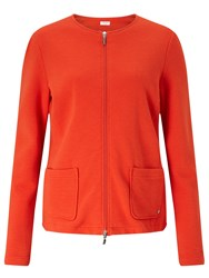 Gerry Weber Ribbed Jersey Jacket Chilli