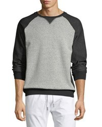 Civil Society Raglan Sleeve Crewneck Sweatshirt Black