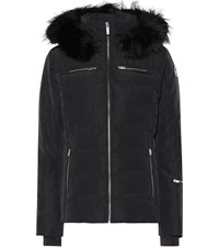 Fusalp Izia Fur Trimmed Technical Ski Jacket Black
