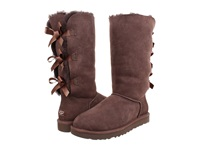Ugg Bailey Bow Tall Chocolate Women's Boots Brown