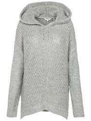 Fat Face Plymtree Hoodie Grey Marl