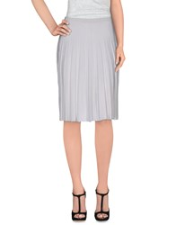 Pinko Black Skirts Knee Length Skirts Women White