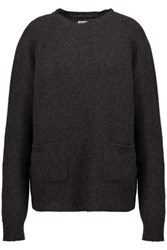 Chinti And Parker Wool Cashmere Blend Sweater Dark Gray