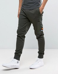 Ellesse Skinny Joggers With Pocket Green