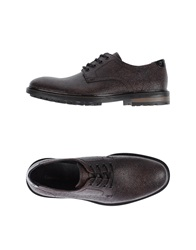 Calvin Klein Jeans Lace Up Shoes Deep Purple