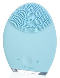 Foreo Luna Silicone Facial Brush For Combination Skin Blue