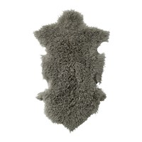 Bloomingville Mongolian Sheepskin Rug Light Grey