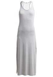 Ltb Vafara Maxi Dress Grey Melange