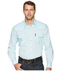 Cinch Modern Fit Western Light Blue Long Sleeve Button Up