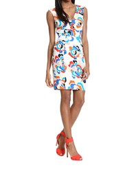 Plenty By Tracy Reese Printed Shift Dress Woodblock