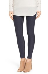 Hue Women's 'Essential' Denim Leggings Deep Indigo