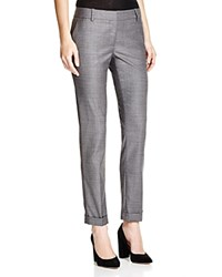 The Kooples Graphic Wave Suit Pants Grey