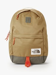 The North Face Daypack Backpack British Khaki New Taupe Green