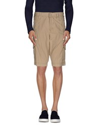 Napapijri Trousers Bermuda Shorts Men Beige