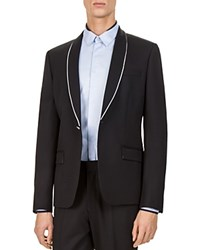 The Kooples Sport Slim Fit Suit Separate Sport Coat Black