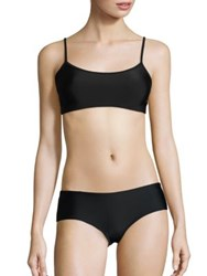 Cover Basic Swim Bra Top Black