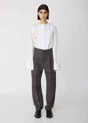 Haider Ackermann Anthracite Pleated Trousers Brighton Anthracite
