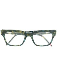 Thom Browne Eyewear Reading Glasses Green