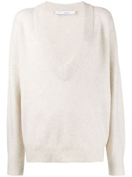 Iro Oversized Jumper White