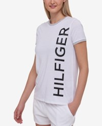 Tommy Hilfiger Sport Logo T Shirt A Macy's Exclusive Style White