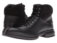 Salvatore Ferragamo Grey 3 Boot Black