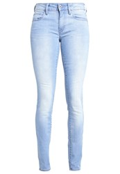 G Star Gstar 3301 Mid Skinny Slim Fit Jeans Blue Blue Denim