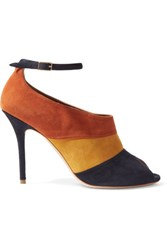 Malone Souliers Sheila Suede Pumps Bright Orange