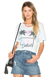 Wildfox Couture Do Not Disturb Tee Mint