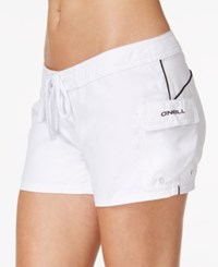 O'neill Cover Up Pacific Board Shorts Women's Swimsuit White