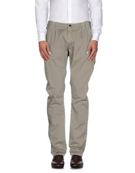 Maison Clochard Trousers Casual Trousers Men Grey