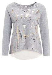 Deha Sweatshirt Grey Mottled Grey