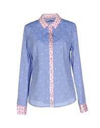 Manoush Shirts Shirts Women Blue