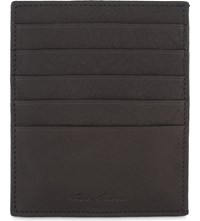 Rick Owens Leather Card Holder Black
