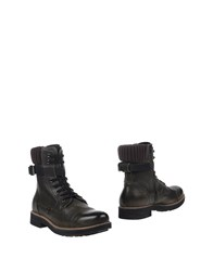 8 Footwear Ankle Boots Military Green