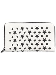Jimmy Choo Carnaby Wallet White