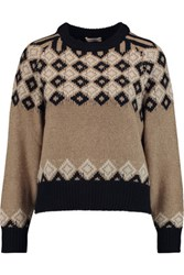 See By Chloe Argyle Knitted Sweater Sand
