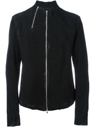Lost And Found Ria Dunn Double Zip Up Biker Jacket Black