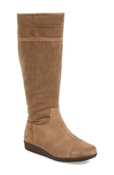 Women's Easy Spirit 'Jarada' Tall Boot Dark Taupe