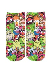 Forever 21 Muppets Graphic Ankle Socks Green Pink
