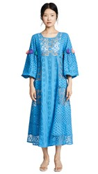 Misa Los Angeles Victoria Cover Up Dress Blue