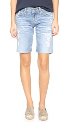 Ag Jeans The Nikki Relaxed Skinny Shorts 22 Years Impressionist