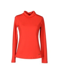 Roccobarocco Long Sleeve T Shirts Red