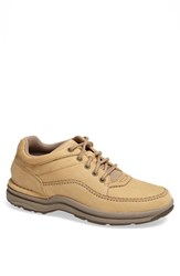Men's Rockport 'World Tour Classic' Oxford Sand Nubuck